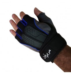 دستکش مربی من آبی