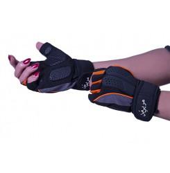 دستکش بدنسازی مربی من نارنجی